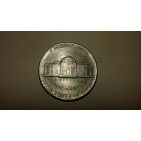 Moeda Americana Antiga - Five Cents- 1977- Para Colecionador