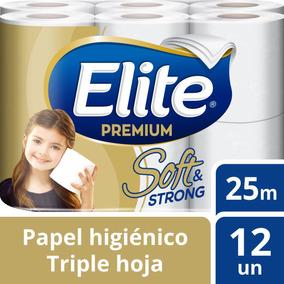 Papel Higiénico Elite 12u Soft And Strong 25m Tienda Elite