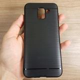 Capa Samsung J6+ Plus Case Anti-impacto Pelicula Vidro