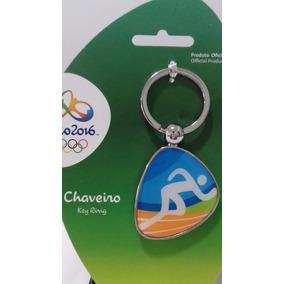 Chaveiro Atletismo Medalha Olimpiadas Rio 2016 Pictograma