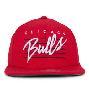 Boné Mitchell And Ness Snapback Chicago Bulls Black Gold - Bonés no ... 709f9f6012a