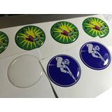 Domes 25mm Transparentes- Etiqueta C/adhesivo.pack 150 Unid.