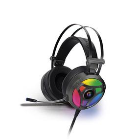Headset Gamer Rgb G Pro H1+ 7.1 Pro Cinza Fortrek