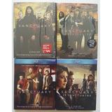 Lote Box Sanctuary Blu-ray Dvd Importado Original 1 A 4