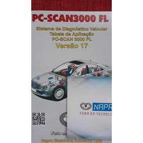 Napro Atualização V10 Para V17 Pcscan3000 + Conector Triplo