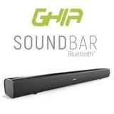 Barra De Sonido Ghia 2.0 Canales / Bluetooth / Usb