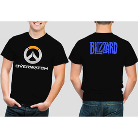 f862bce616 Camiseta Blizzard Overwatch - Camisetas Manga Curta para Masculino ...
