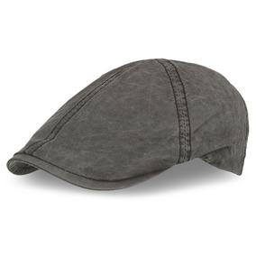 Gorra Boina Tipo Flat Cap Negra - Accesorios de Moda en Mercado ... f3032dc8146