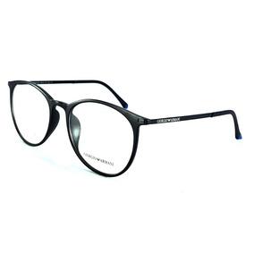 938afbdb77619 Oculos De Grau Masculino Redondo Armani - Óculos no Mercado Livre Brasil