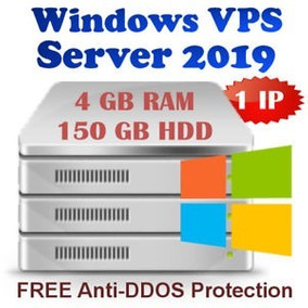Servidor Vps Linux / Windows 2019 - Ssd 120gb / 2gb Ram