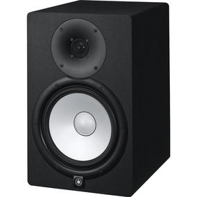 Monitor De Referência Yamaha Hs8 Preto Bi-amplificado 110v