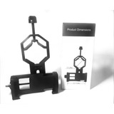 Adaptador Binocular Universal Celular Cámara Telescopio