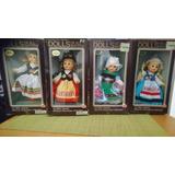 Muñecas De Paises Con Trajes Tipicos 4 Pzas