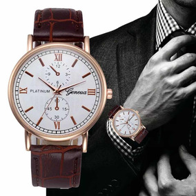dec344a0dc2 Relogio Geneva Platinum - Relógios De Pulso no Mercado Livre Brasil