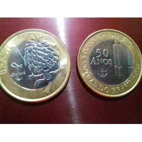 Moeda Da Olimpíadas E Banco Central 50 Anos