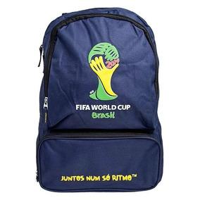 Mochila Copa Do Mundo Fifa Azul Santino