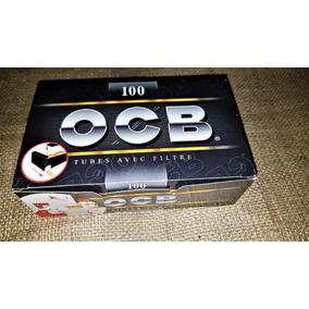 Tubos Con Filtros Para Armar Cigarrillos (100 Tubos) C/ Filt