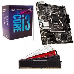 Kit Gamer 8º Geração Intel Core I3 8100 + H310m + 4gb Ddr4