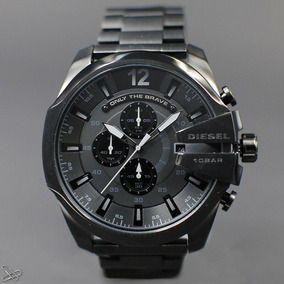 Reloj Diesel Mega Chief Dz4355 Disponible