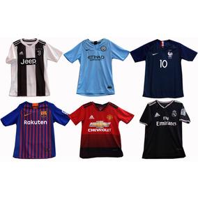 Camisetas Equipos De Futbol Internacional Para Niños