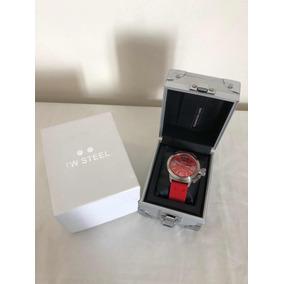 Reloj Tw Steel Canteen Tw554 Fashion Rojo Seminuevo