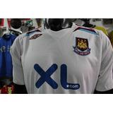 Camiseta West Ham De Inglaterra Talla M Visitante Umbro Xdx f294345d3b0b9