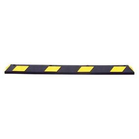 Tope De Estacionamiento Park It 1.83m Color Negro-amarilo