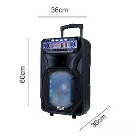 Caixa De Som Sumay Amplificada 400w +fm + Bluetooth