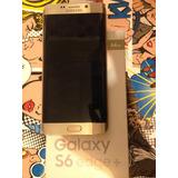 Samsung S6 Edge Plus+ 64gb Bronce En Caja Movistar Exelente