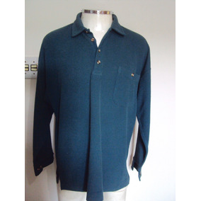 Camisa Grossa Masculino Verde Basic & More Tamanho G