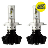Kit Led Cree H4 H1 H7 18000lm 8k 6k 12v Tuning Tododeporte