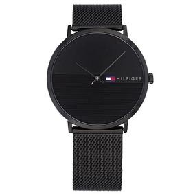Relógio Pa1014 Tommy Hilfiger Masc. Aço Preto - 1791464