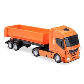 Brinquedo Caminhão Iveco Hy Way Basculante(várias Cores)