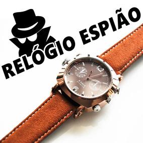 5690b0e4556 Gravadores De Som Espiao 007 Relogio Pulso Invisivel Camara