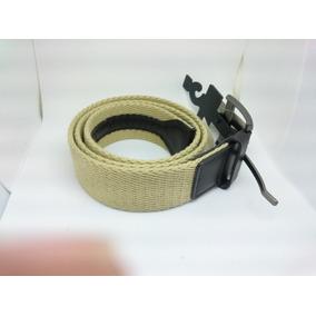 Cinturón Cab Nylon Beige Talla 30-32