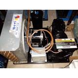 Unidad Condensadora Refrigeracion 1 Hp 220v Cava Cuarto
