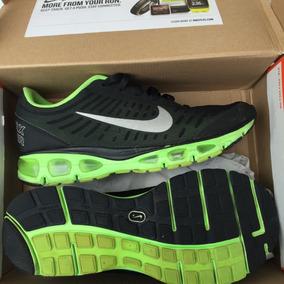 Tênis Nike Air Max Tailwind+ 5 Preto Verde Fn1608