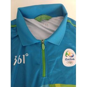 Blusa Olimpíadas Rio 2016 Azul. R  150 612aa896c945b