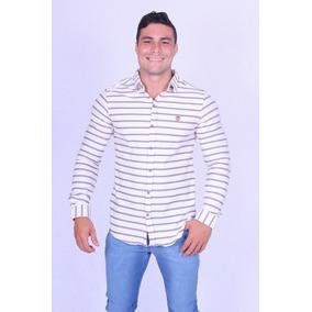 Camisa Social Manga Longa Cavalheiro-50721 - Asya Fashion
