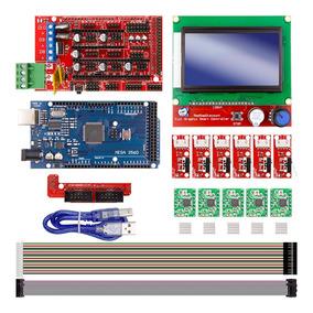 Kit Eletrônica Impressora 3d -ramps+arduino+driver+lcd+endst