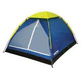 Barraca Camping Impermeável Iglu 4 Pessoas Mor