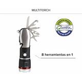 Multitorch Linterna Multifunción 8 En 1 Original