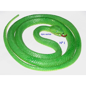 Serpiente Víbora Snakes Animales Juguete Goma Regalo Navidad
