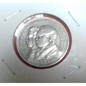 Moeda De Prata 2000 Réis 1922 (prata 500) No Coin Holder