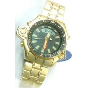 1889dfcf17f Relogio Dourado Atlantis Gold Serie A 3156 - Joias e Relógios no ...
