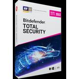 Bitdefender Total Security 2019, Vpn, 2 Años, 5 Pc
