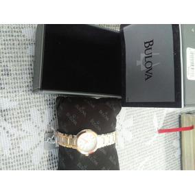 Relógio Dourado Com Prata Feminino