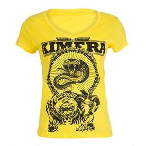 Camiseta Baby Look - Iridium Labs Kimera - Amarelo M 26e74a0aebd