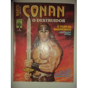 Conan O Destruidor Filme + Mestre Do Kung Fu 1 Editora Abril