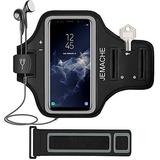 Jemache Galaxy Note 8 / S8 Plus / S9 Plus Brazalete, Gym Run